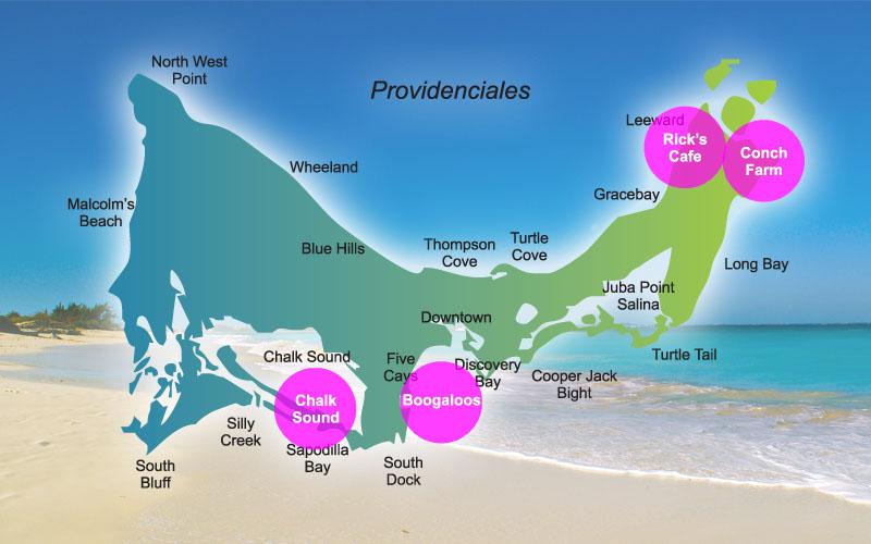 Turks and Caicos Island Tours